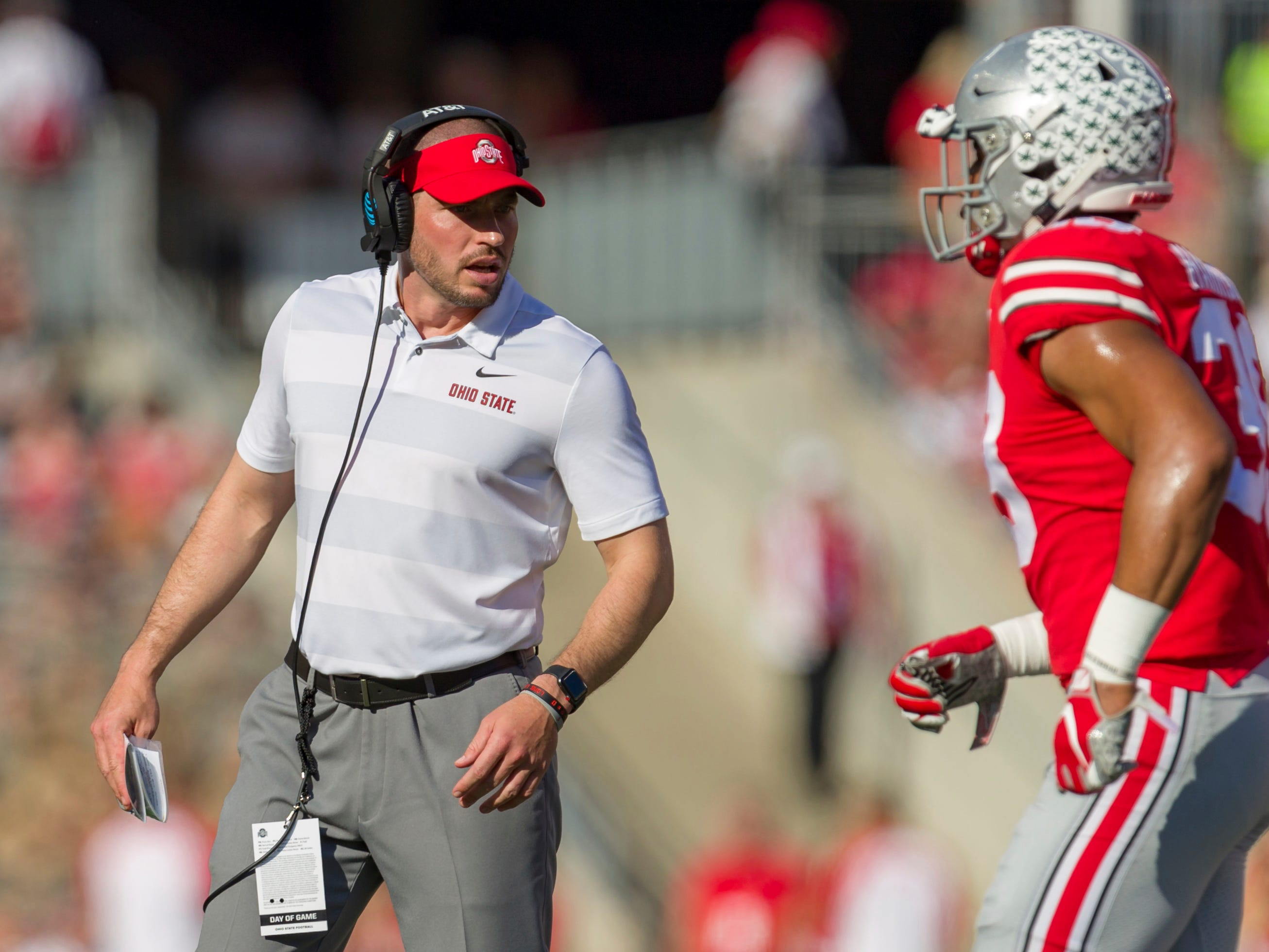No. 15: Alex Grinch, Ohio State co-defensive coordinator: $1,158,938. Grinch left Washington State to join the Buckeyes after last season – and got a $200,000 raise. He also received a $358,938 lump sum that Ohio State terms a signing bonus, but was likely connected to the $250,000 buyout he owed Washington State.