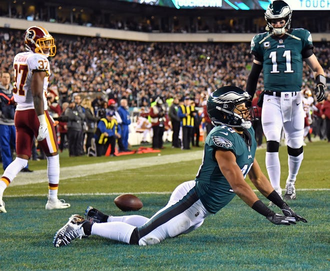 Philadelphia Eagles wide receiver Golden Tate will be the guest speaker at the Tennessean Sports Awards presented by Farm Bureau Health Plans on May 31, 2019.