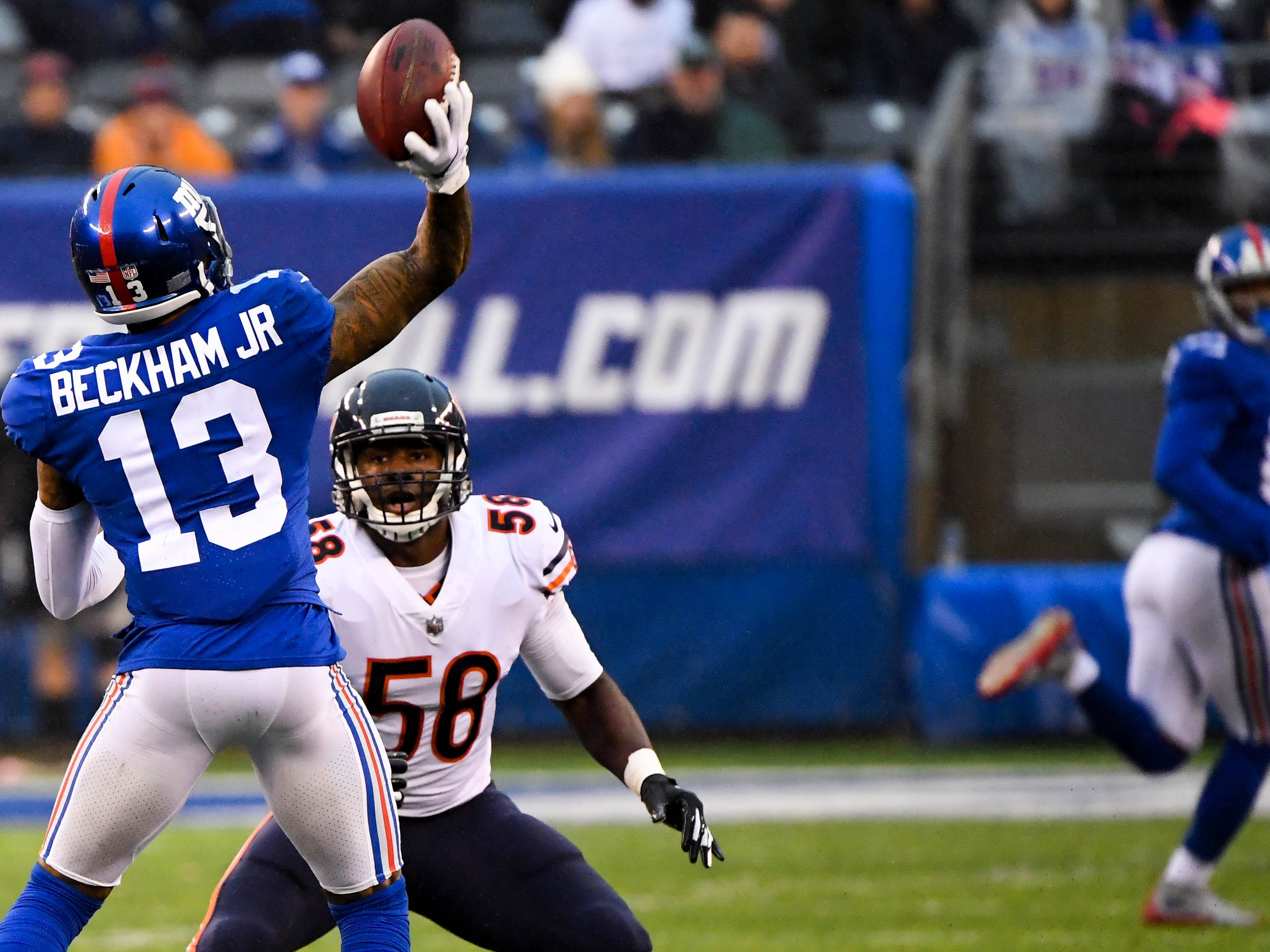 22. Giants (25): With $65M in guarantees headed his way, Odell Beckham must understand why no Giants fan wants him  making any more on-field business decisions.