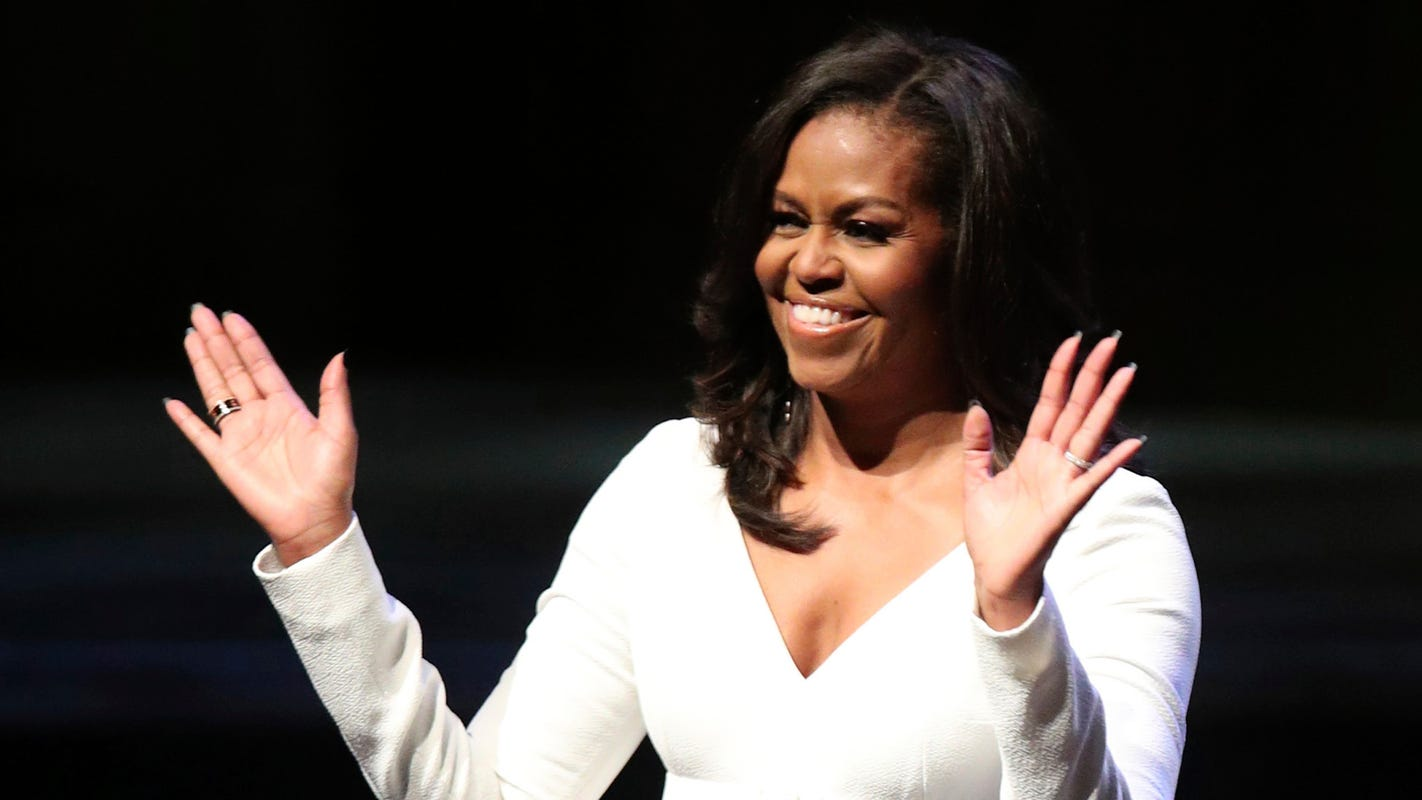 Michelle Obama beats out Angelina Jolie, Oprah Winfrey as most admired woman, poll says
