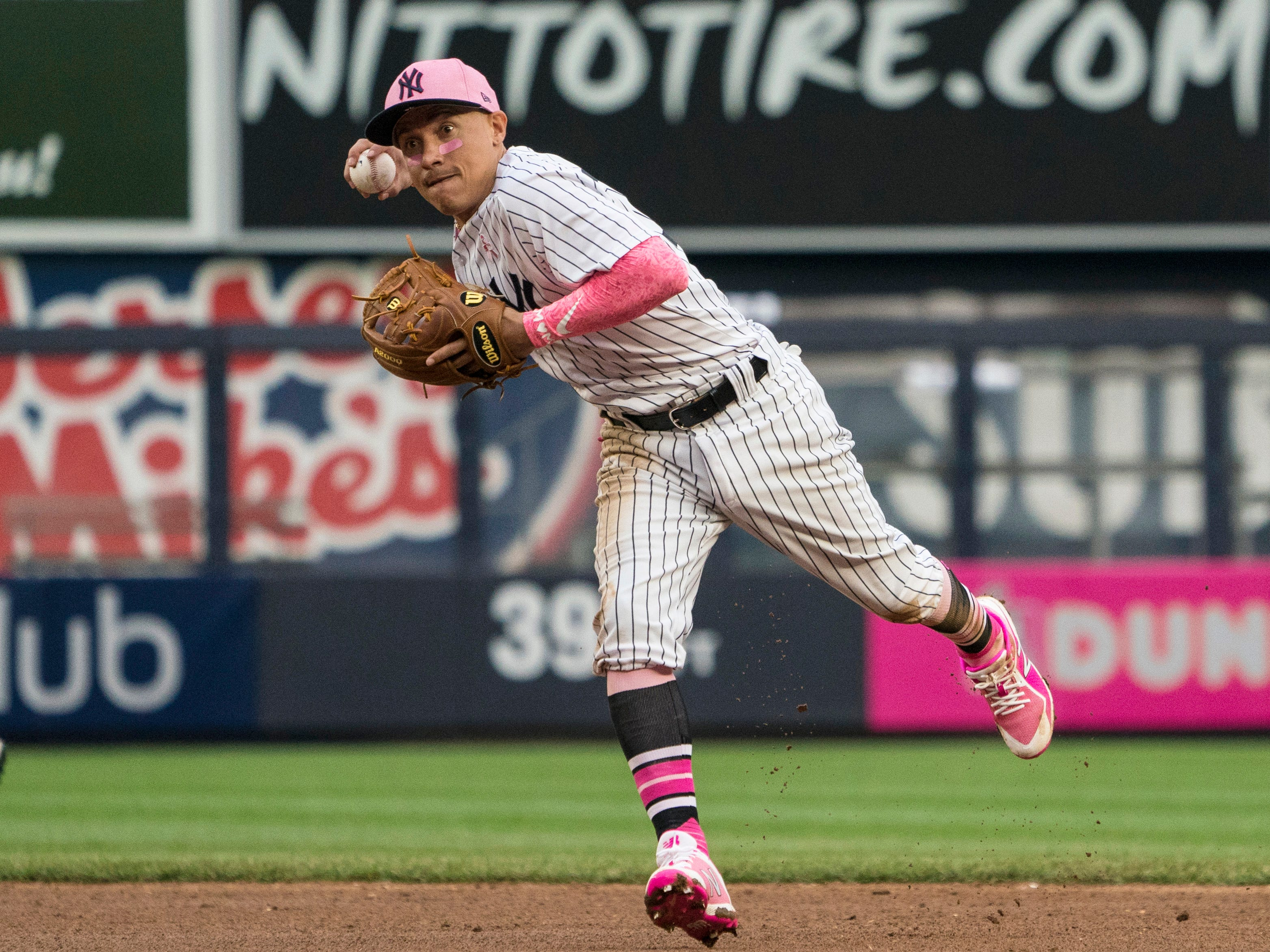 Nov. 28: The Yankees traded INF Ronald Torreyes to the Cubs for Player To Be Named Later.