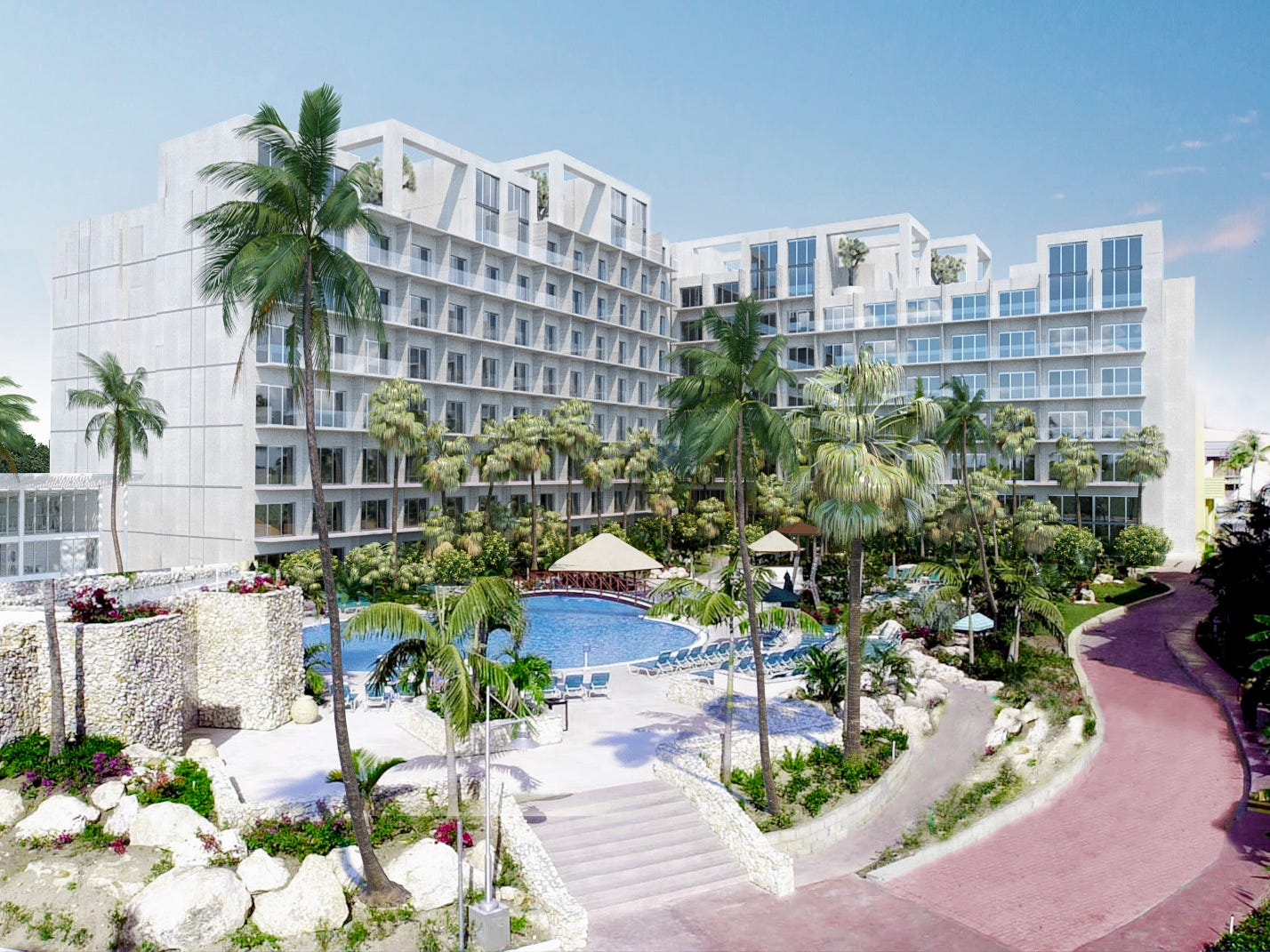 Sonesta Maho Beach Resort, Casino & Spa opens in February as the largest  all-inclusive on St. Maarten.