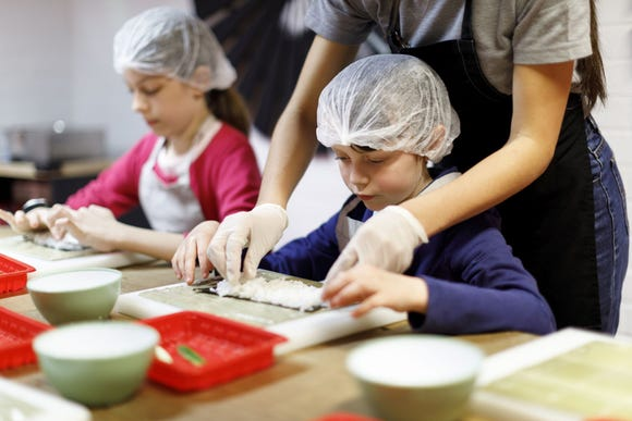 Cooking classes for kids are a great gift for children who are learning their way around the kitchen.