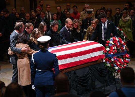 Usp News President George H W Bush Funeral A Usa Dc