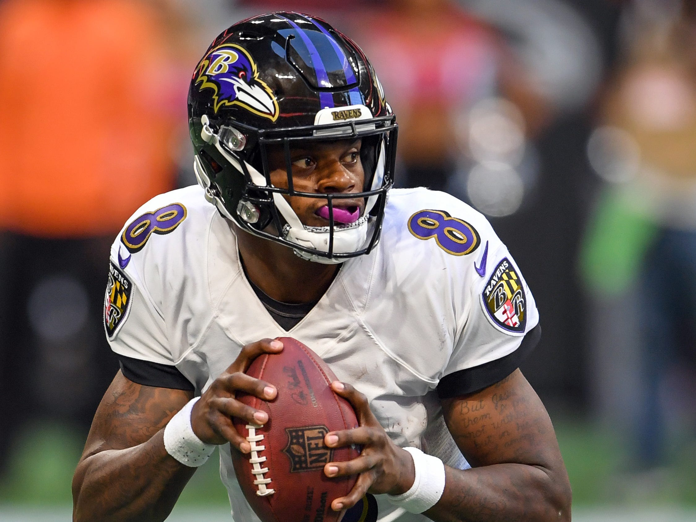 13. Ravens (13): Lamar Jackson's 73.5 QB rating is ugly ... but it's also better than all of his fellow 2018 first rounders with exception of Baker Mayfield.