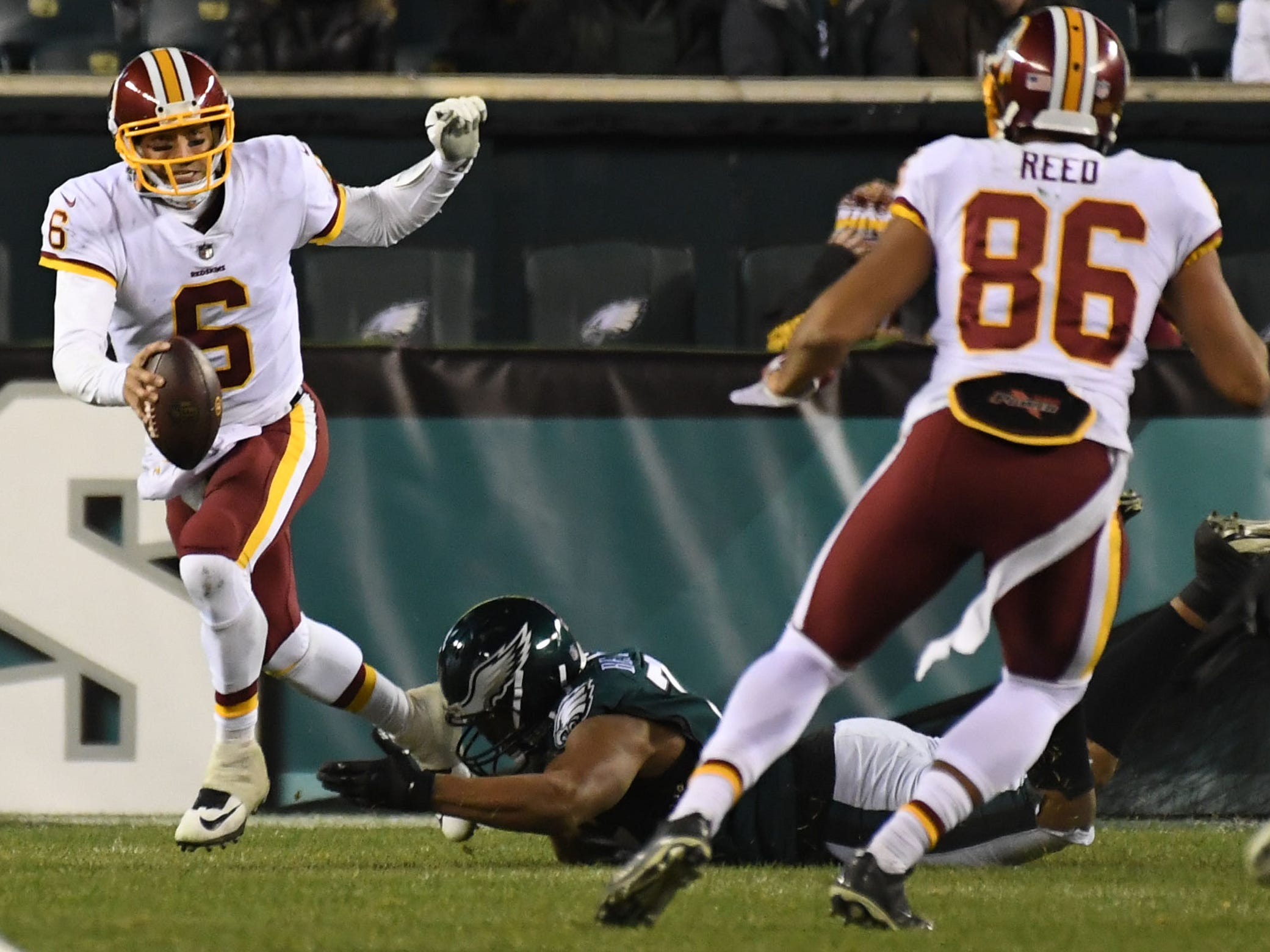 19. Redskins (15): Unwise to entrust too much hope with Mark Sanchez under best of circumstances. Best thing he can provide now is needed continuity under center.