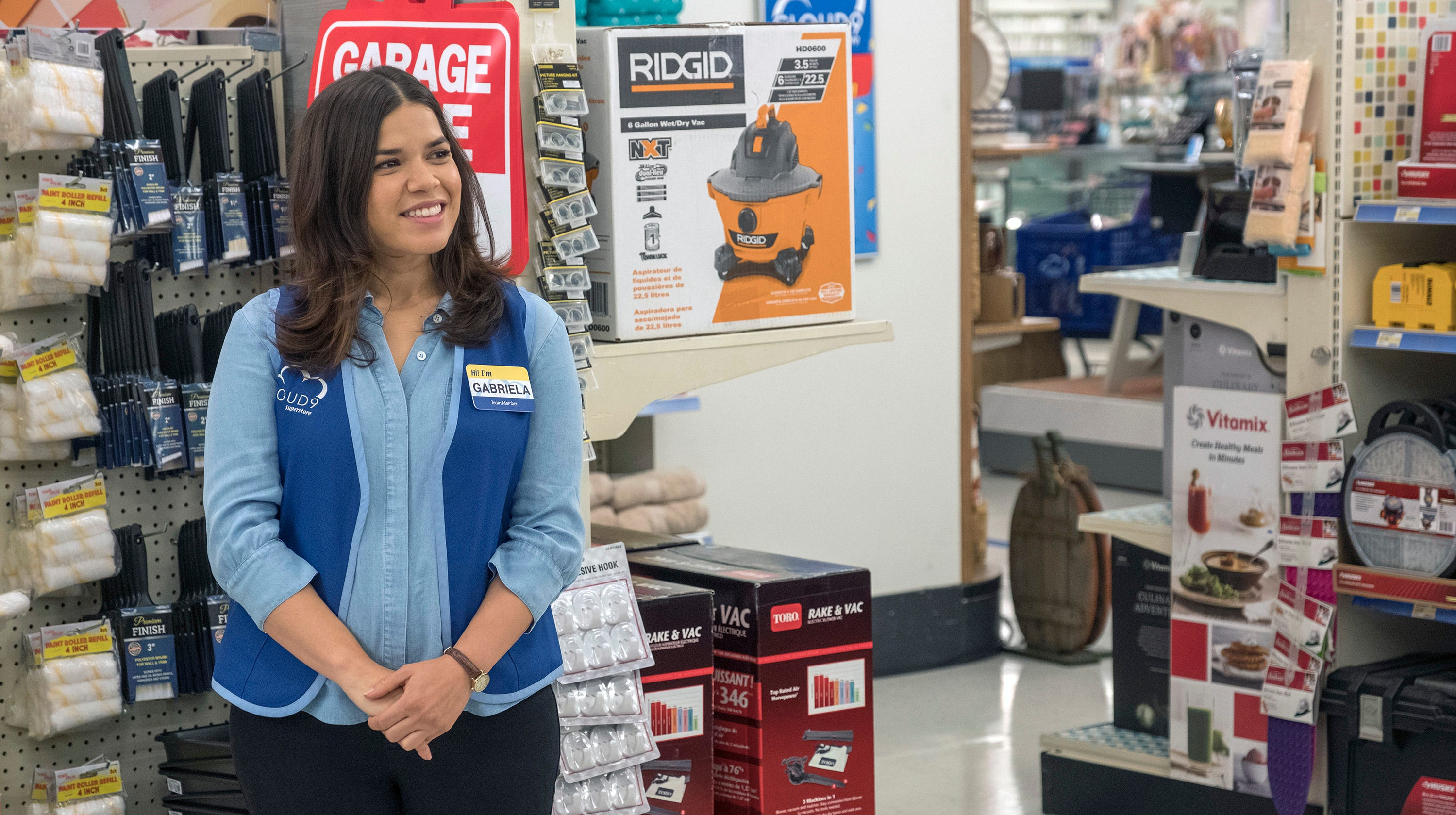 America Ferrera: 48-hour maternity-leave farce on 'Superstore' resonated with moms