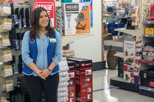 "America Ferrera in ""Superstore"" on NBC."