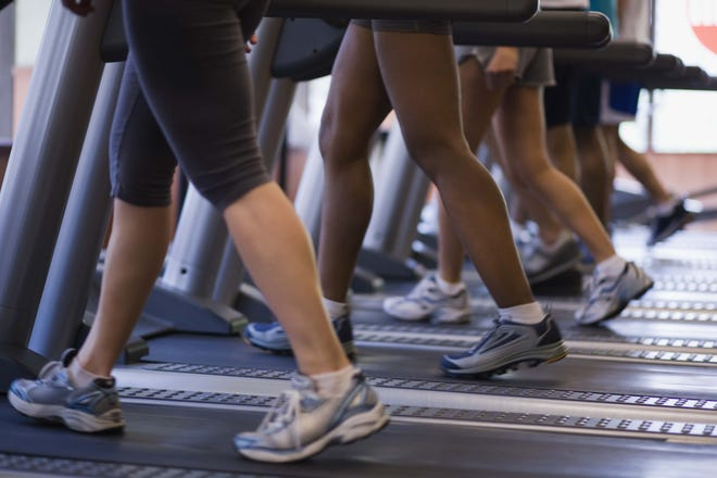 Treadmills are trendy when it comes to group fitness classes.