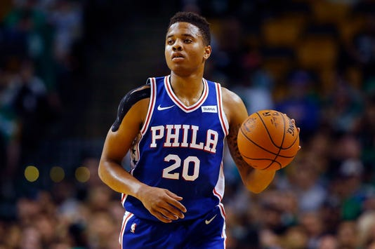 Ap 76ers Fultz Out Basketball S Bkn File Usa Ma