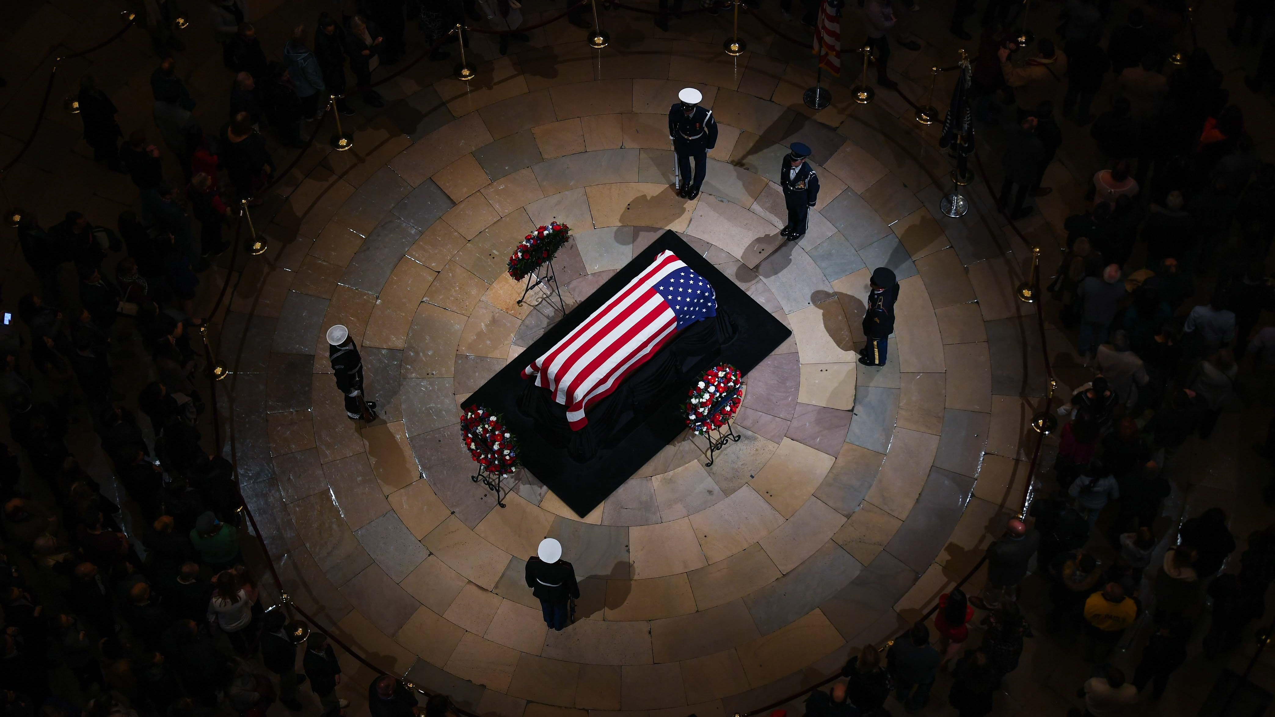 George H W Bush What You Should Know About His State Funeral