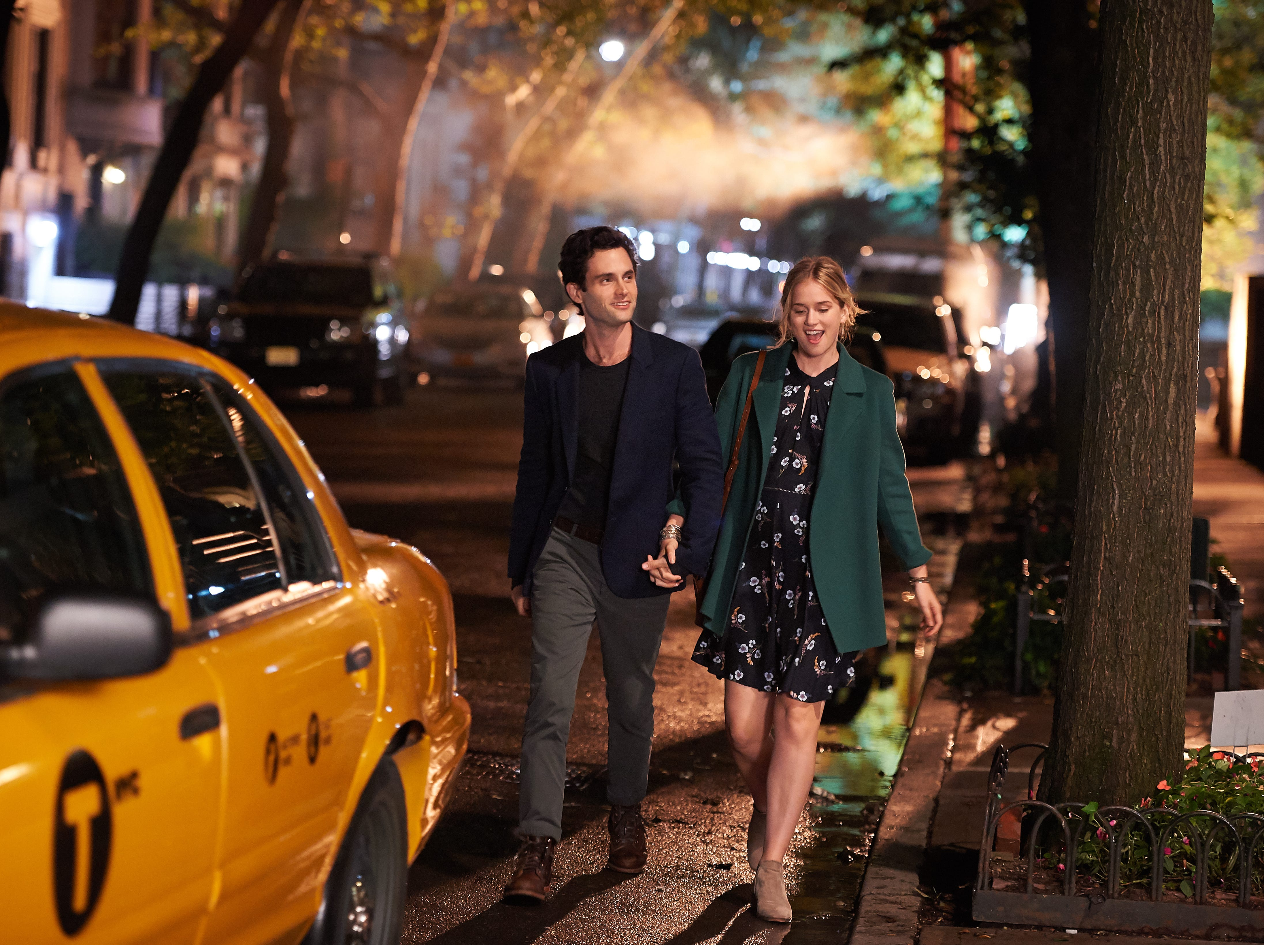 """""""You"""" made its debut on Lifetime with Penn Badgely and Elizabeth Lail"""