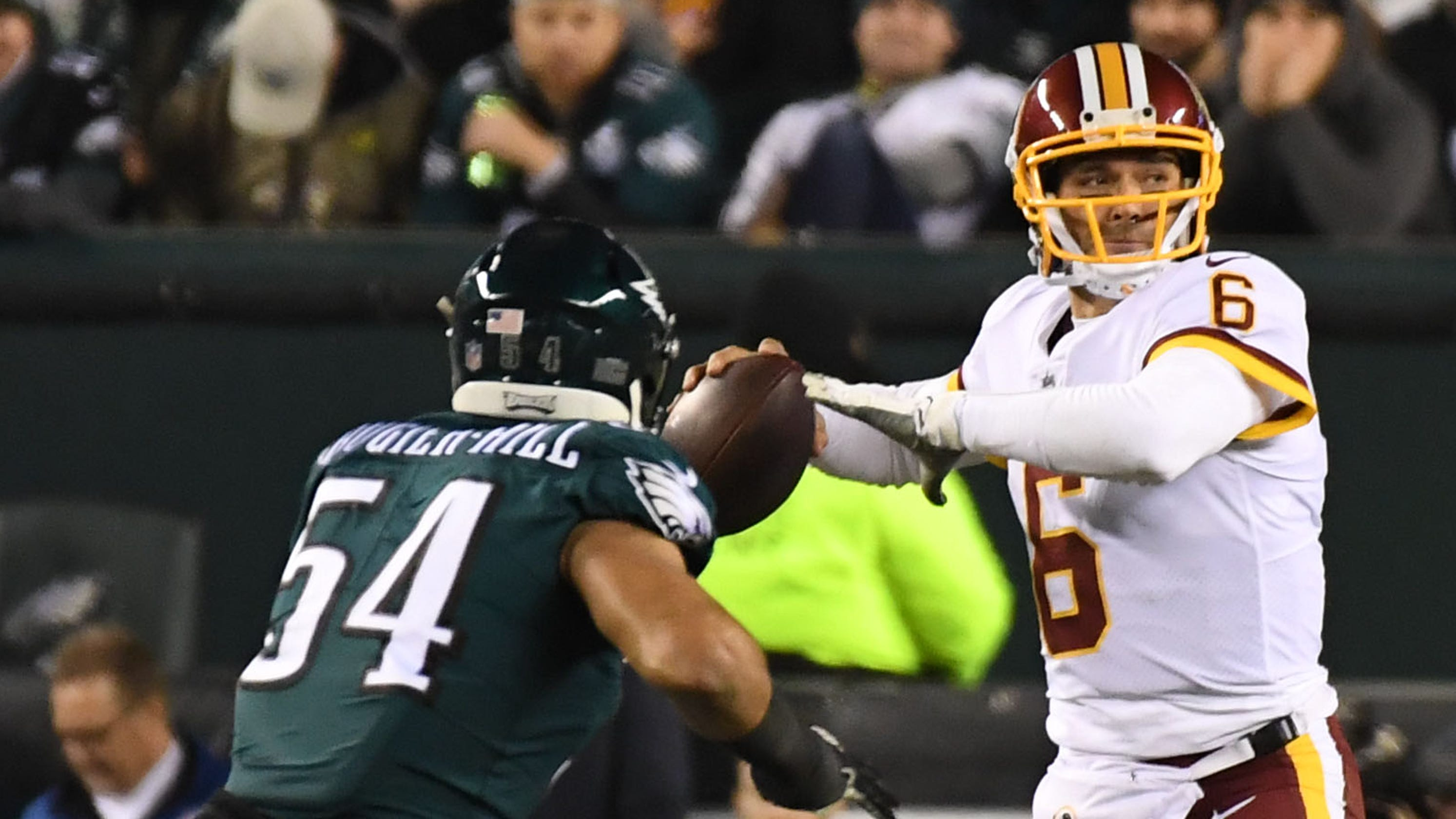 Hope fading fast for Washington Redskins after Monday night s loss to Philadelphia  Eagles 117fd651d
