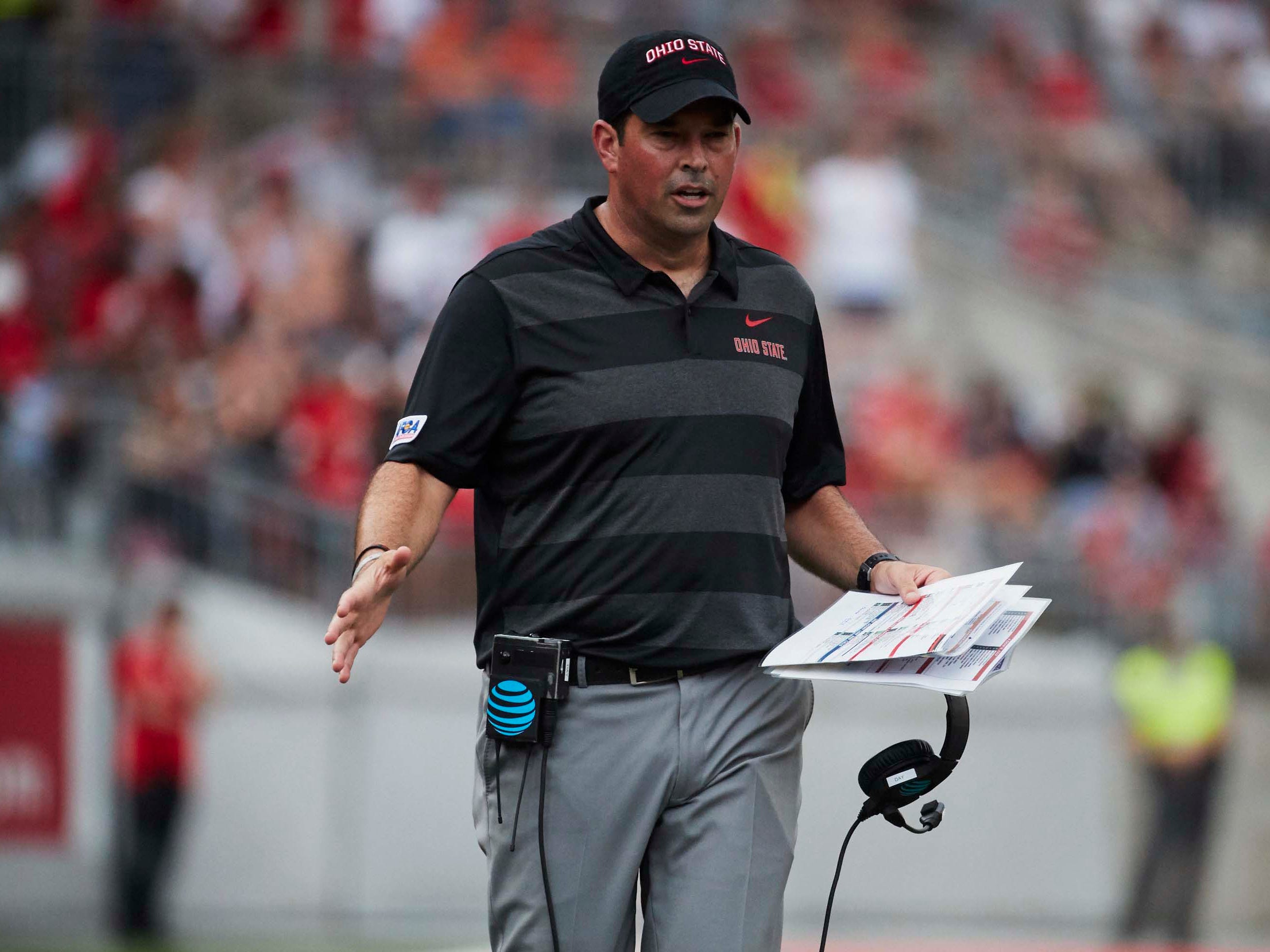No. 12 (tie): Ryan Day, Ohio State offensive coordinator: $1,200,000. Day's total does not include the $487,000 in additional compensation he received for serving as interim head coach while Urban Meyer was suspended by the school early this season. Day's total does include the $200,000 retention payment he was set to receive at the end of January 2019 – but that's academic now. He's again taking over for Meyer, who is retiring.
