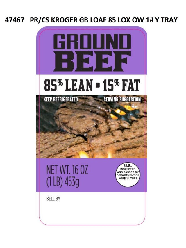 Ground beef recall from JBS Tolleson expands to 12 million pounds