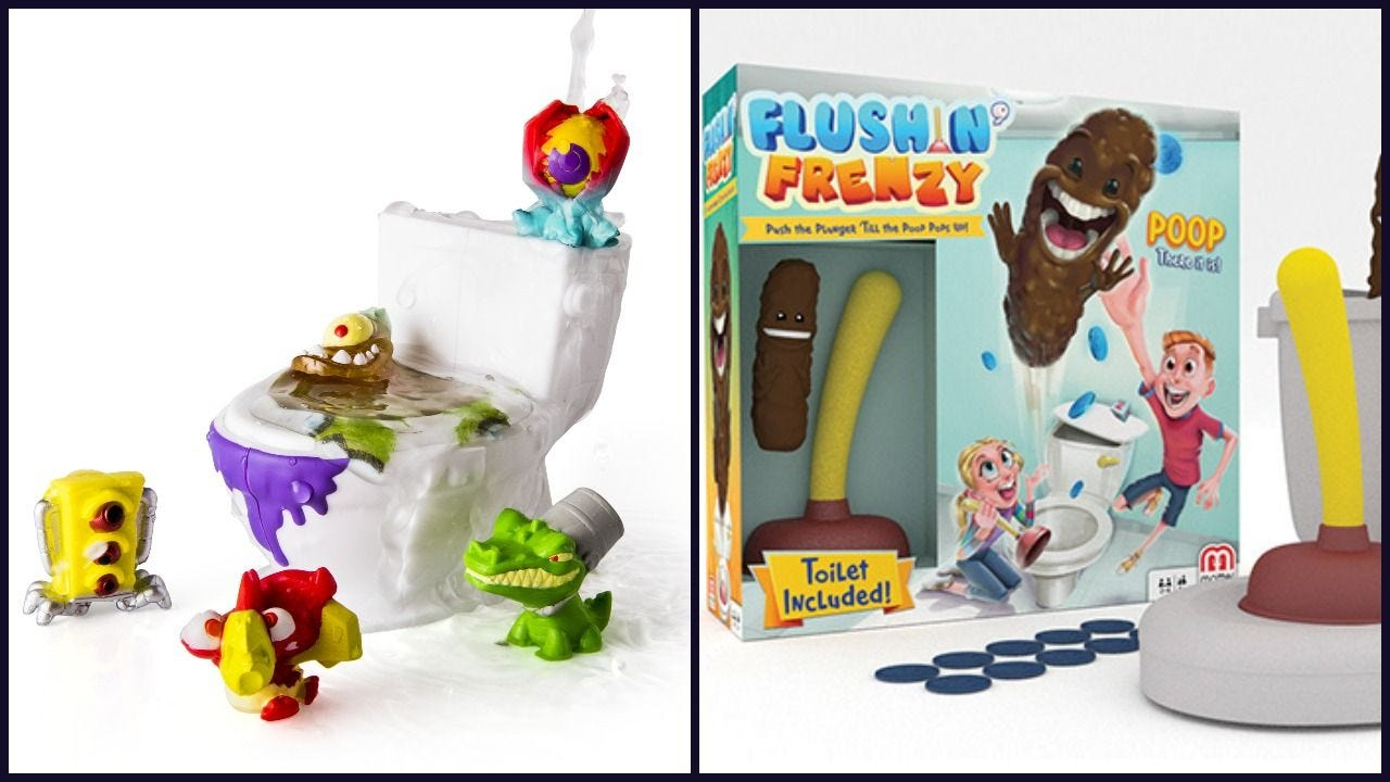 Poop Lot of 4 Poopeez Let/'s get this potty started SERIES 1 PLAY TOYS FUN