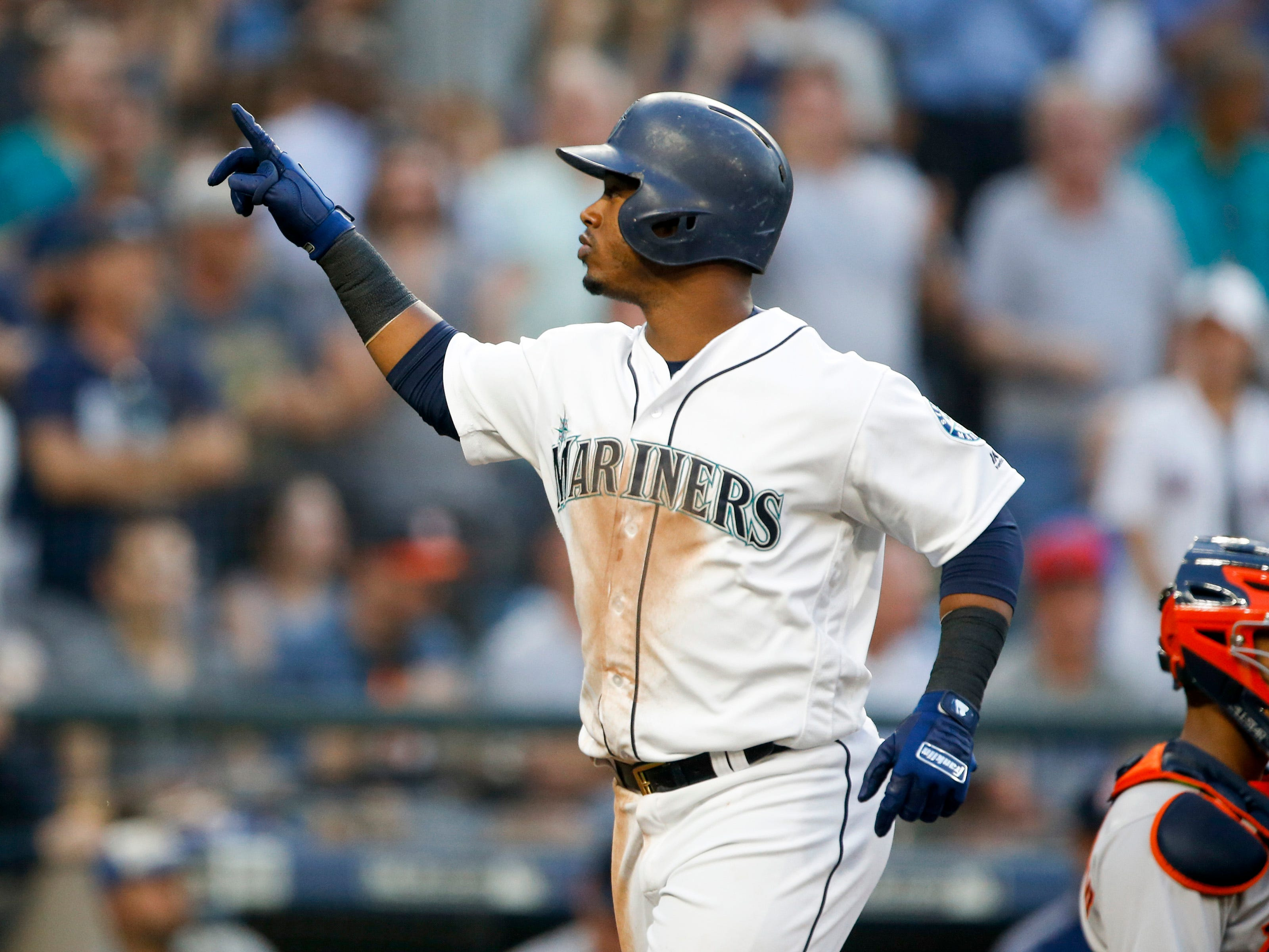 Dec. 3: The Mariners traded SS Jean Segura, RHP Juan Nicasio and LHP James Pazos to the Phillies for 1B Carlos Santana and SS J.P. Crawford.