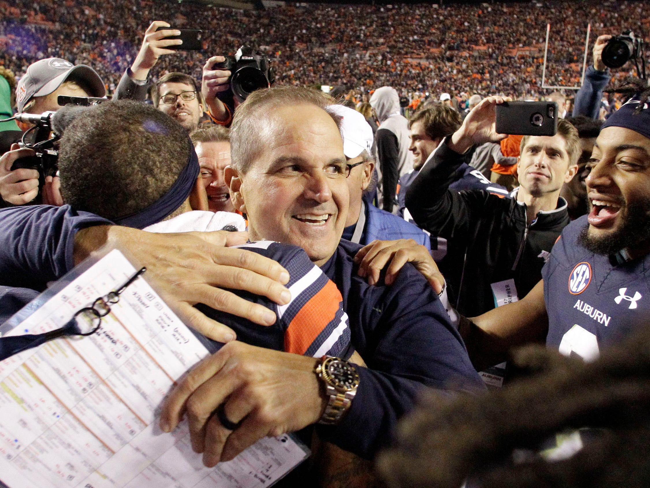 No. 3: Kevin Steele, Auburn defensive coordinator: $2,050,500. Steele made $1.2 million last season. A new, three-year contract signed in 2018 increased his basic annual pay to $1.8 million and kept from his prior contract a $250,000, one-time retention payment that became due at the end of the 2018 regular season – his third with the Tigers. His basic annual pay is set to be $1.9 million in 2019 and $2 million in 2020.