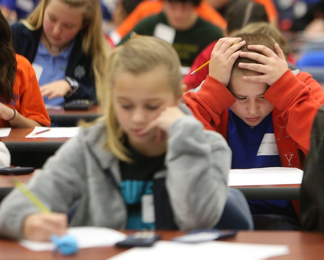 Math competition in Panama City, Florida, in 2015.
