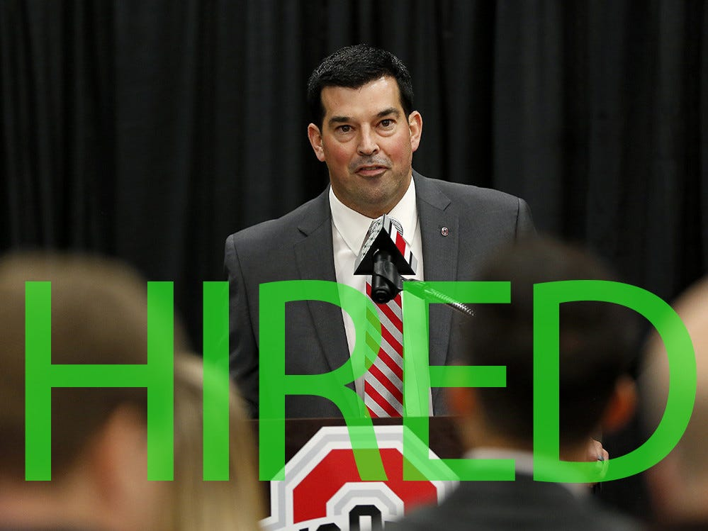 Ryan Day will take over for Ohio State following Urban Meyer's retirement. Day has served as Ohio State's offensive coordinator the past two seasons and went 3-0 in 2018 while serving as the Buckeyes' interim coach while Meyer was suspended.