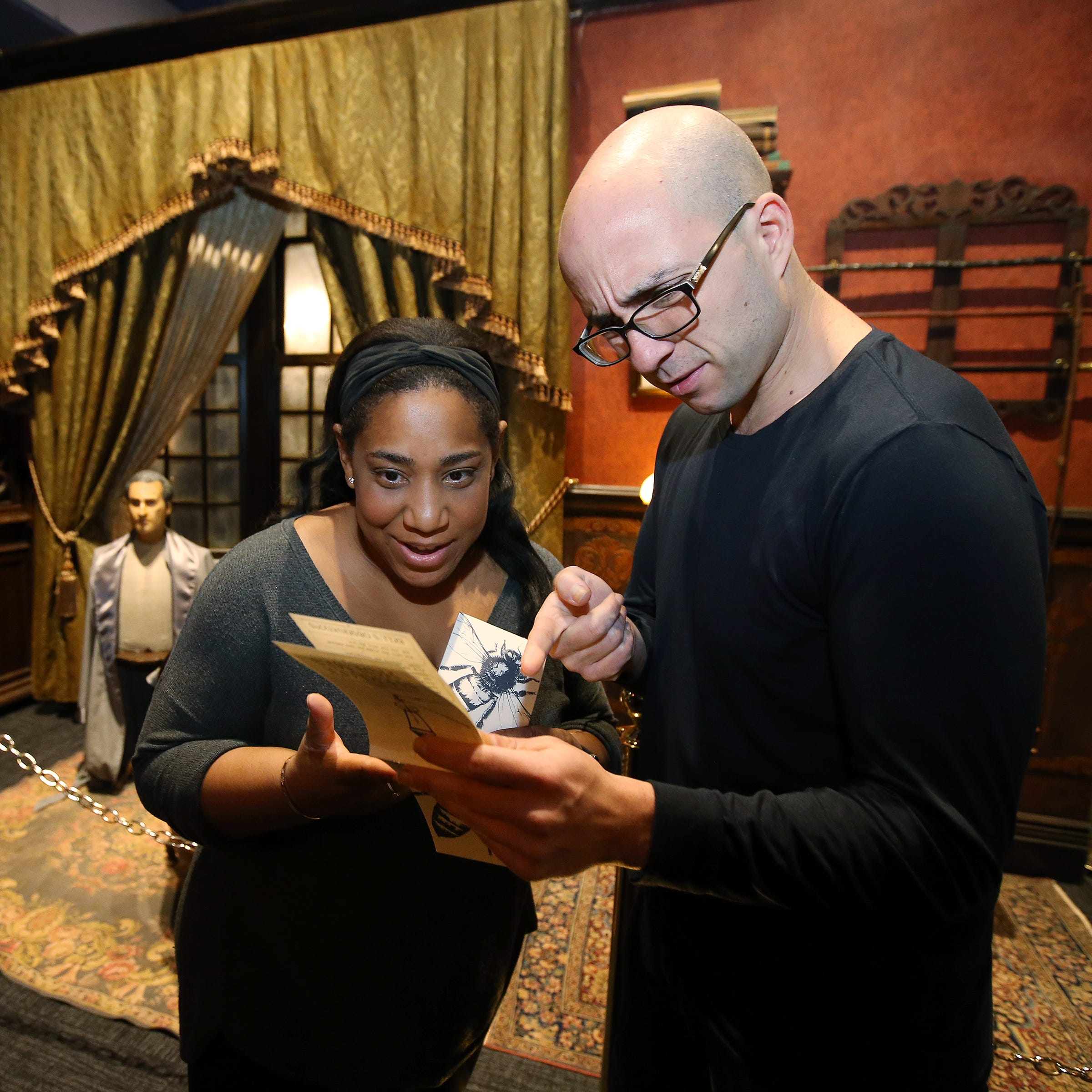 Sherlock Holmes and Watson bring mystery to Liberty Science Center