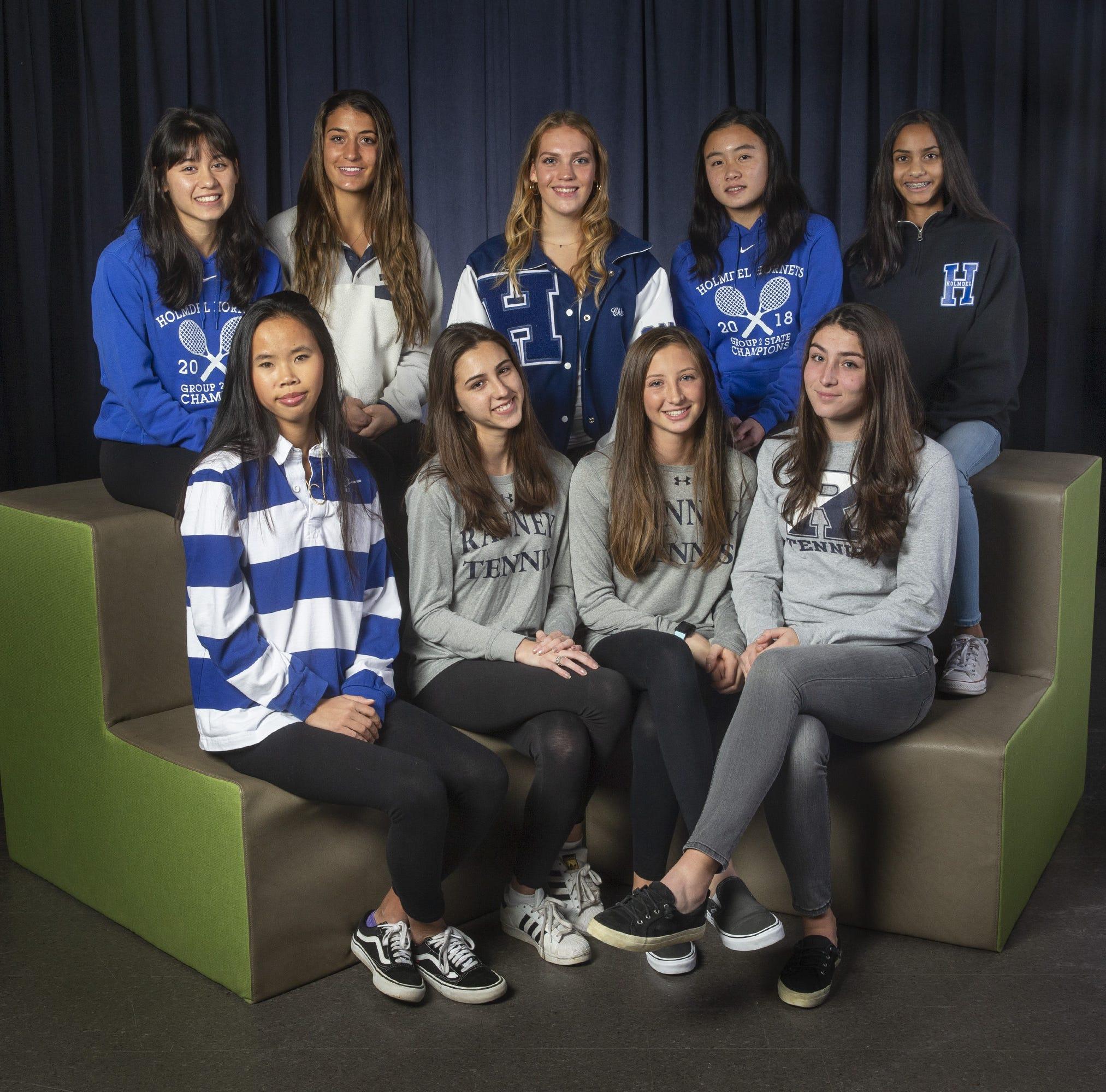 NJ girls tennis: Meet the 2018 All-Shore teams