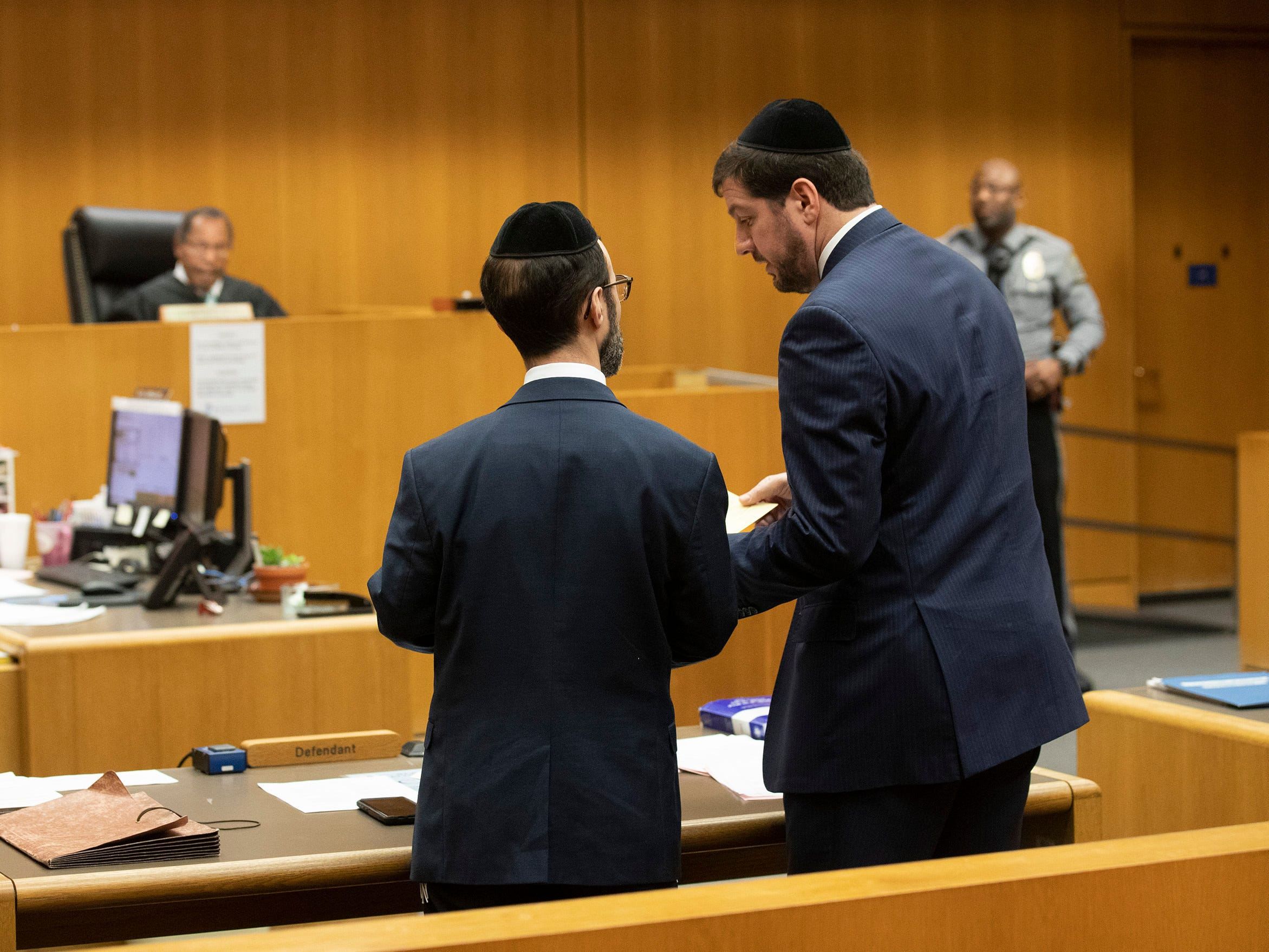 Yisroel Merkin. The first four plea deals in the Lakewood Welfare Fraud cases were settled in front of Judge Wendel Daniels in Ocean County Court in Toms River on December 5, 2018. Twenty Six people were arrested in the raids in 2017.