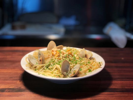 Linguini and clams is one of five courses that will be served during Coal House Bistro's feast of the seven fishes on Christmas Eve.