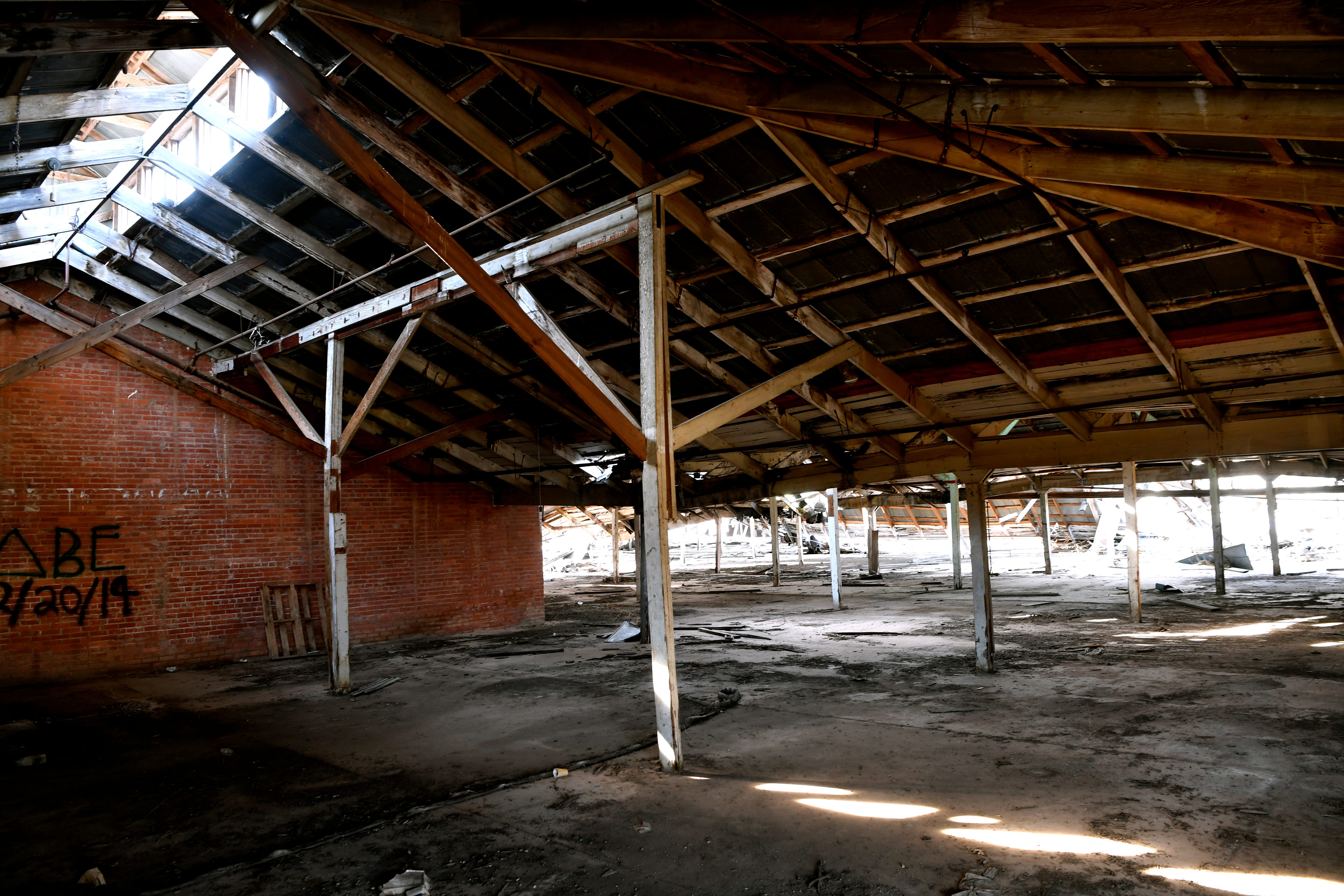 The interior of the Cotton Warehouse, 602 N.1st. St.