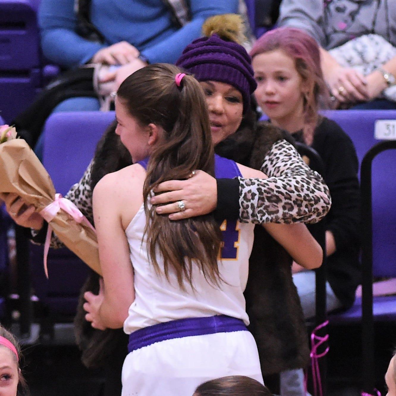 Abilene Wylie, Merkel girls basketball join together for Coaches vs. Cancer