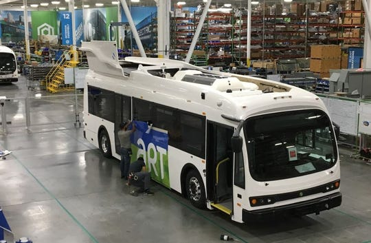 The city of Asheville is buying five new electric buses for its fleet. They should hit the streets in early 2019.