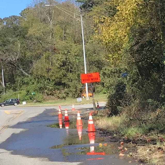 Answer Man: Who's responsible for longstanding water leak on Riverside Drive