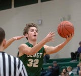 Olivet at Pennfield in boys basketball in non-conference action