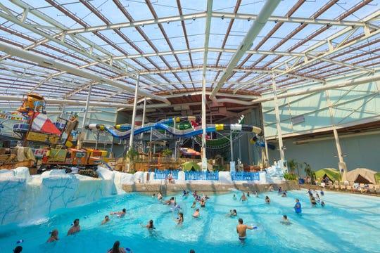 Aquatopia Indoor Waterpark is at Camelback Resort, 193 Resort Drive in Tannersville,Pennsylvania.