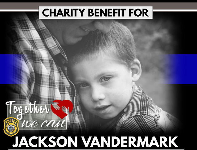 A benefit will be held for Jackson Vandermark and his family Dec. 8.