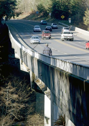 City of Port Orchard has priced out a suggested net on the Blackjack Creek Bridge to catch jumpers. It will cost $1 million and wouldn't solve the problem city officials said at the Nov. 5 land use committee meeting.