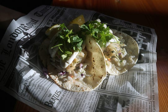 Fresh code tacos at The Dock Bar & Eatery in the Port Orchard Market.
