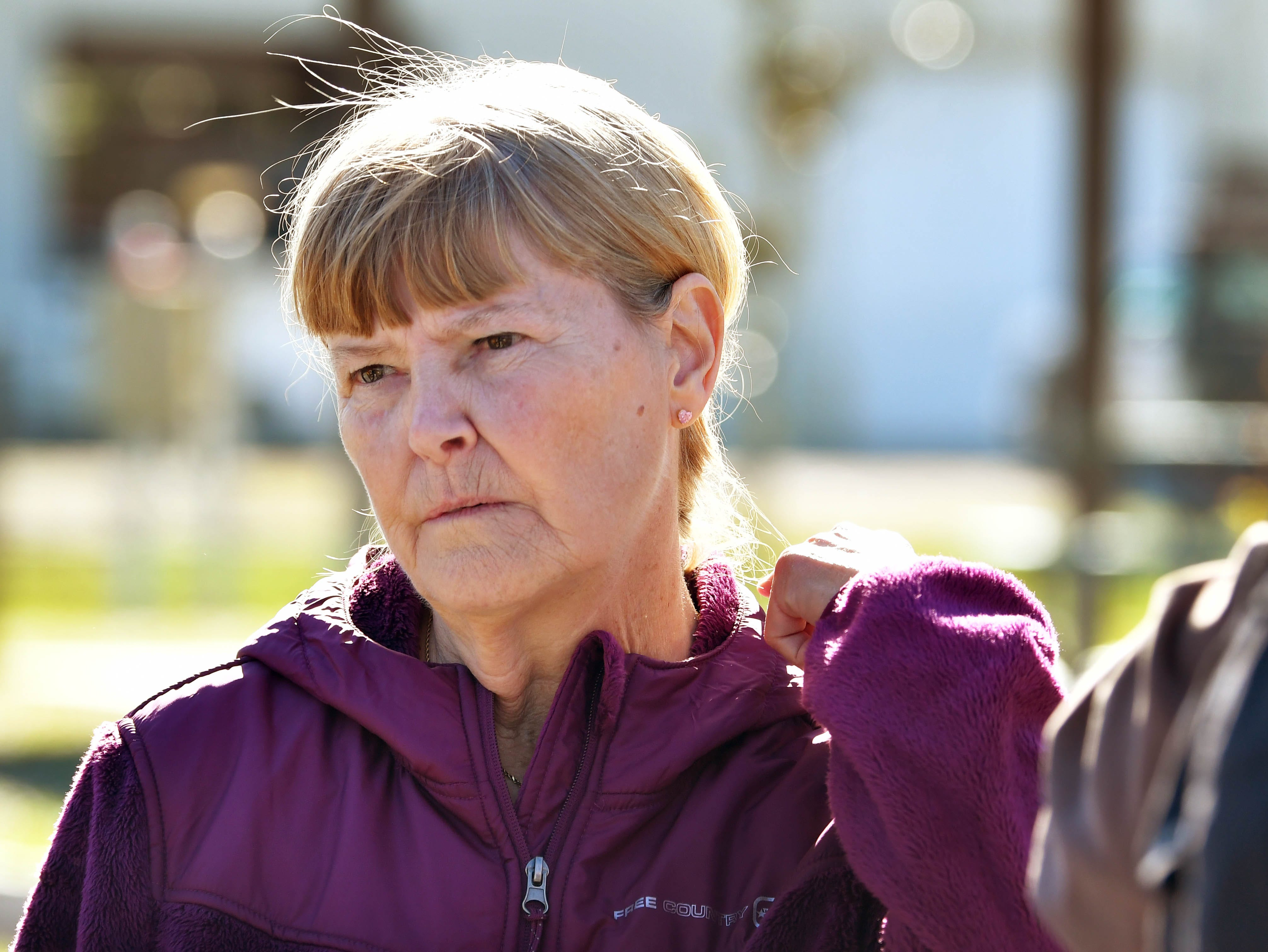 Debbie Rogge, mother of Brandy Hall, attended the search. On Wednesday, renewed searches began in Malabar and Palm Bay for the remains of missing firefighter Brandy Hall, who disappeared more than 12 years ago.