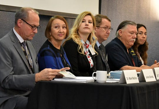 The first in a series called Conversation and Community, a dialogue to build awareness and support about community issues, was held at the Holiday Inn Hotel and Convention Center in Viera on Wednesday. The theme was education, school safety, and mental health.