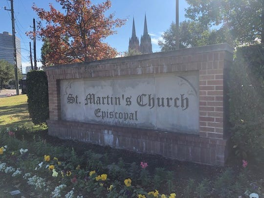 St. Martin's Episcopal Church in Houston was the spiritual home to George and Barbara Bush for a half-century.