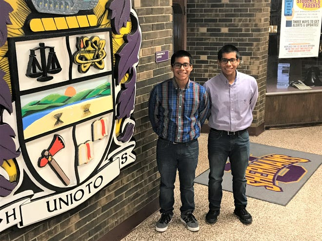 Unioto seniors James and Jason Shuman are among just 1,896 students from a pool of 95,715 nationwide selected as semifinalists in a prestigious scholarship program.