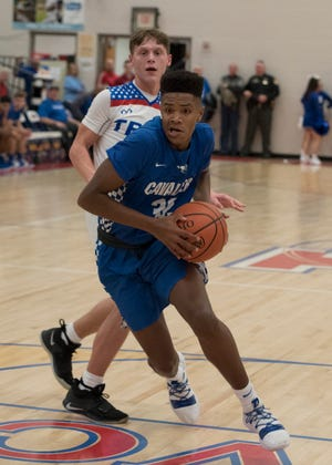 Jayvon Maughmer scored 17 points and grabbed eight rebounds in Chillicothe's 47-41 loss to Washington on Tuesday.