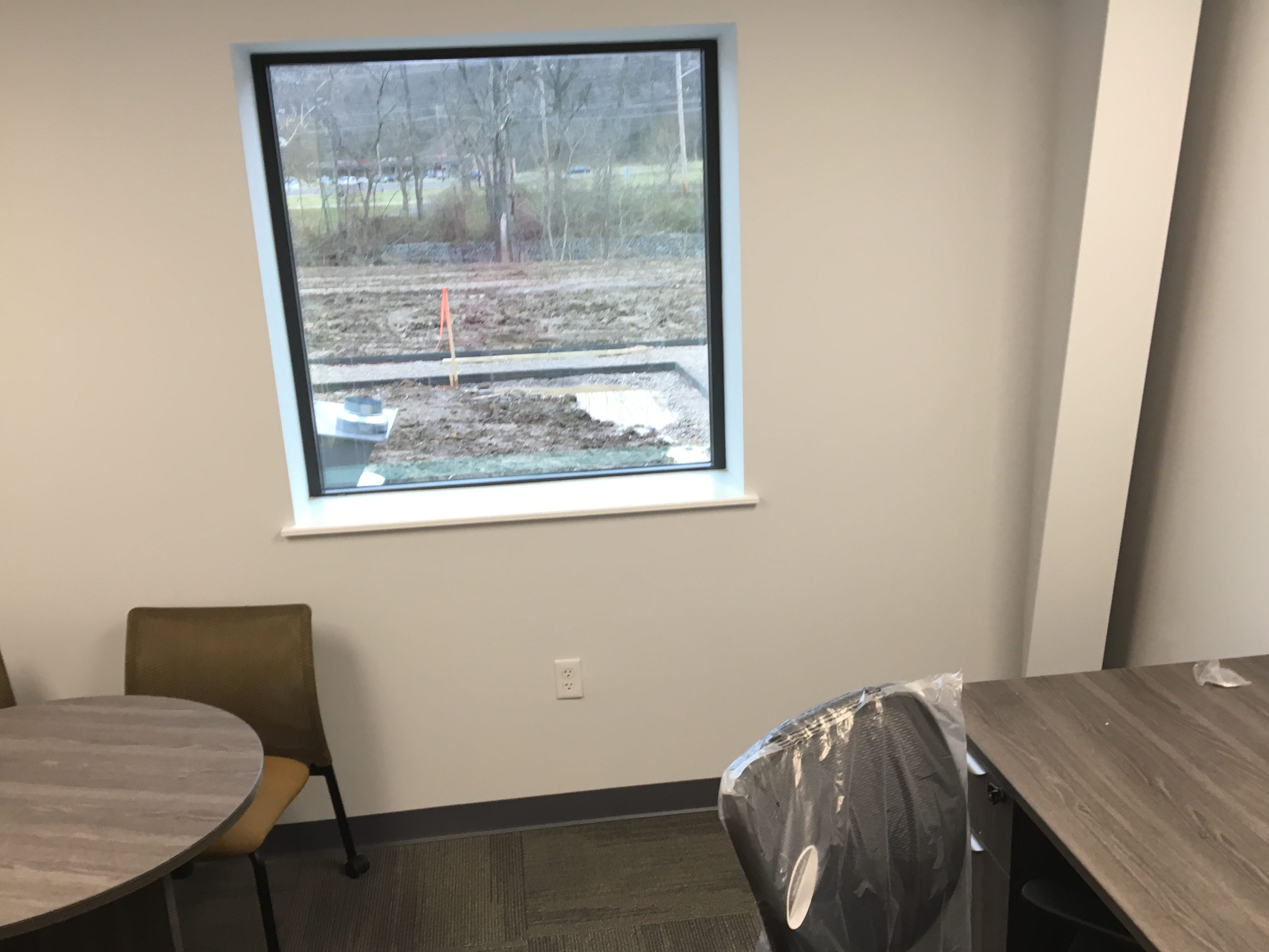 A sample of what an office will look like.