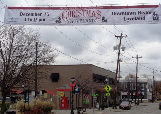 Decorations are already lining the streets of Loveland for the Saturday, Dec. 15, celebration of Christmas in Loveland.