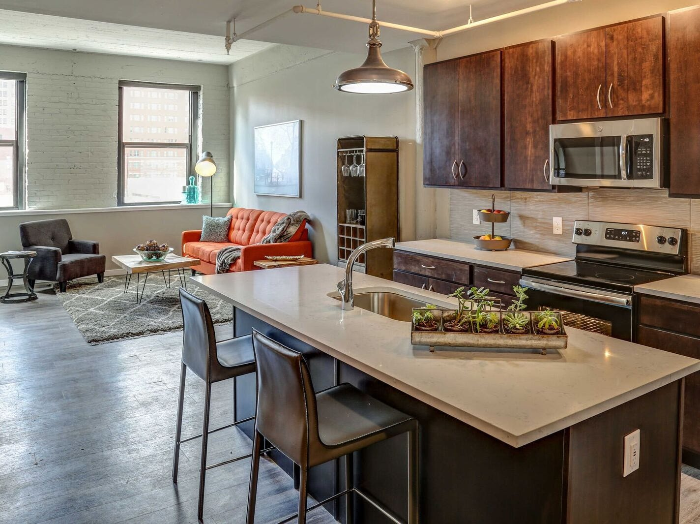 Monthly rents range from $1,185 to $3,170.