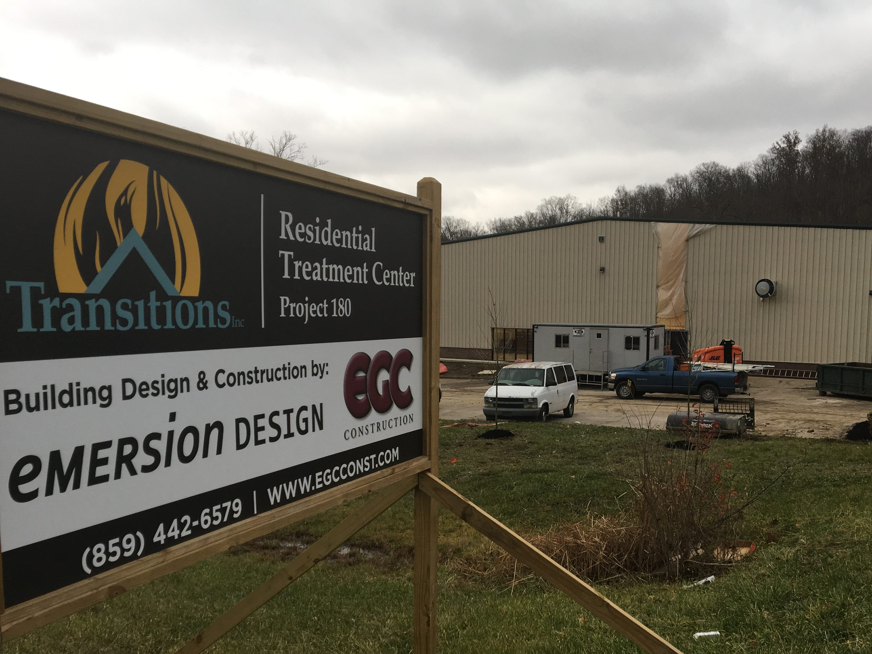 An outside view of Project 180 Residential Treatment Center. Opening later in December 2018, Project 180 residential treatment facility involved the renovation of Pleasure Isle recreation complex in Erlanger.