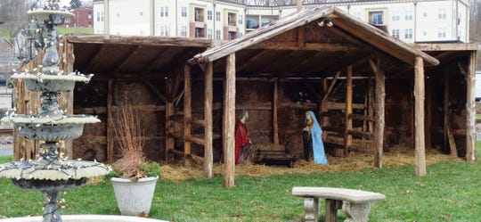 The Live Nativity on the Fountain Green is a most important tradition of the true Christmas season celebration
