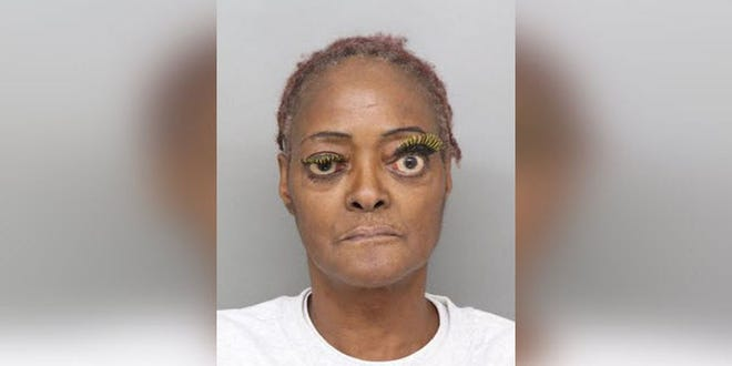 Charlene Thompson was embroiled in an argument when she dumped the grease on the victim, according to police.