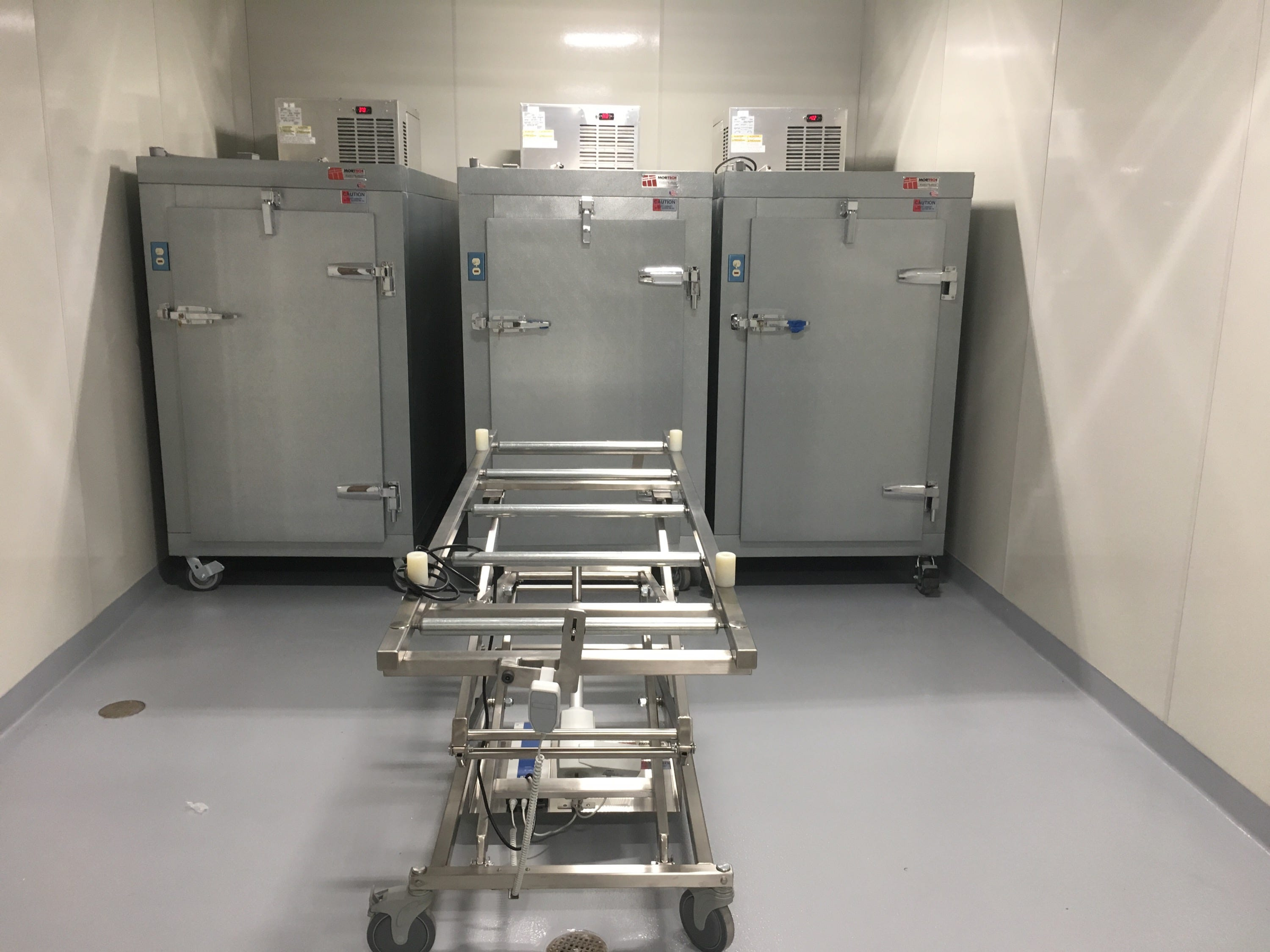 Montgomery County has its first-ever dedicated morgue.