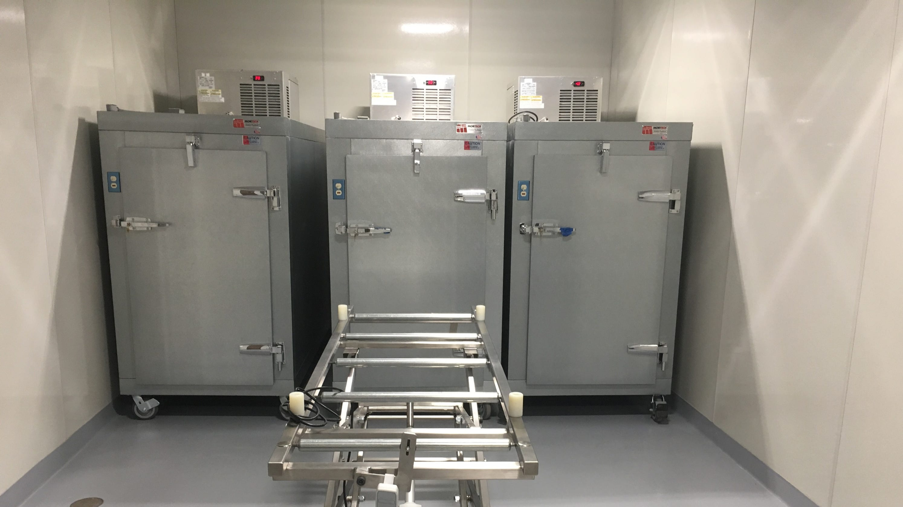 Morgue opens in Montgomery County's new EMS center